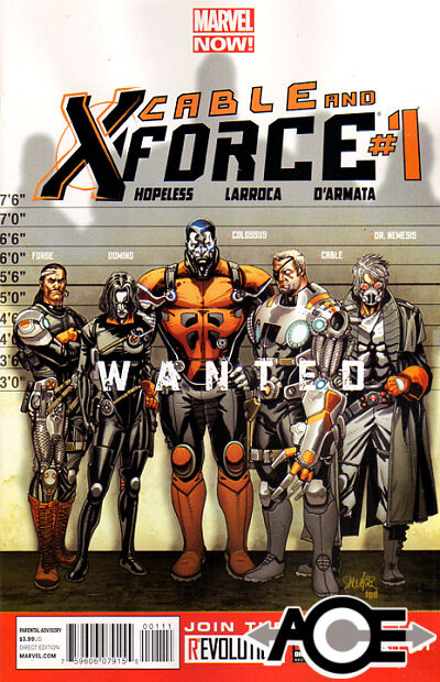 CABLE AND X-FORCE #1 - Marvel Now! - New Bagged