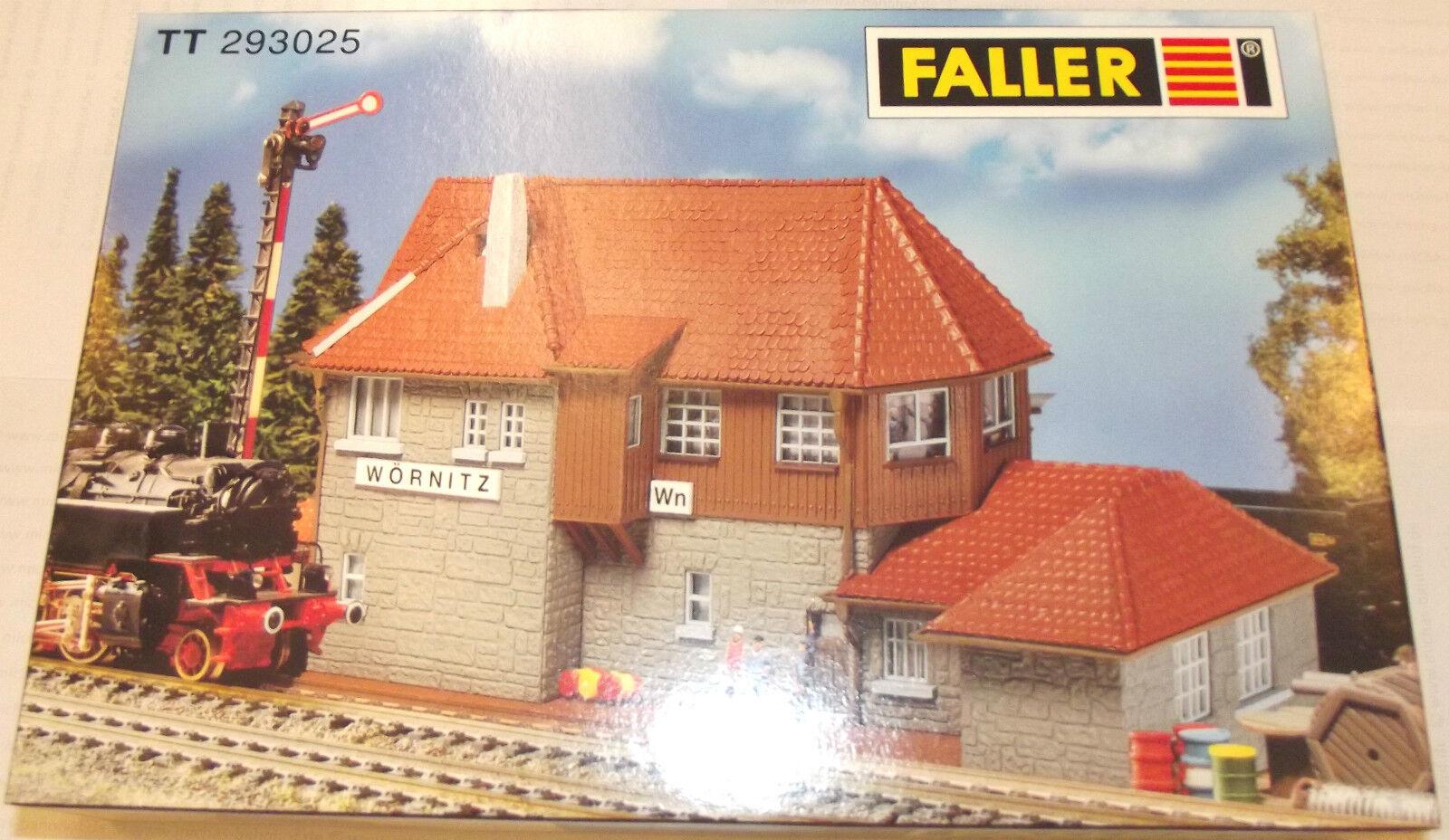 Faller 293025 Stellwerk Wörnitz Bausatz NEU und OVP TT 1 120   µ  | Abrechnungspreis
