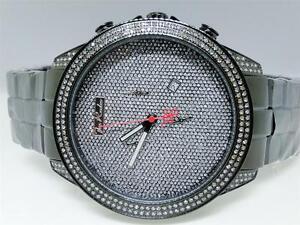 Armband- & Taschenuhren Uhren & Schmuck Gerade Herren Joe Rodeo Monarchie Jojo Jojino Gummiarmband Diamant Armbanduhr Jrem8