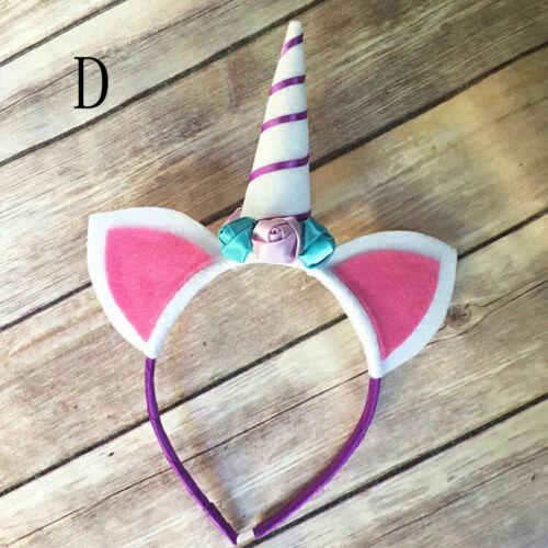 Decorative Unicorn Horn Head Party Hair Headband Fancy Dress Cosplay Costume