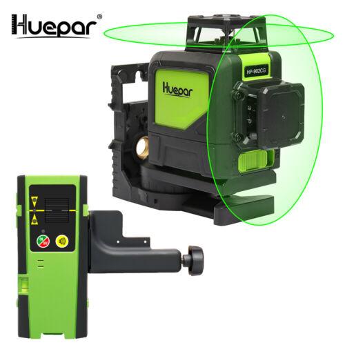 Huepar de construction autonivelant croix lignes laser grüen 1*360 25 M Sac de protection