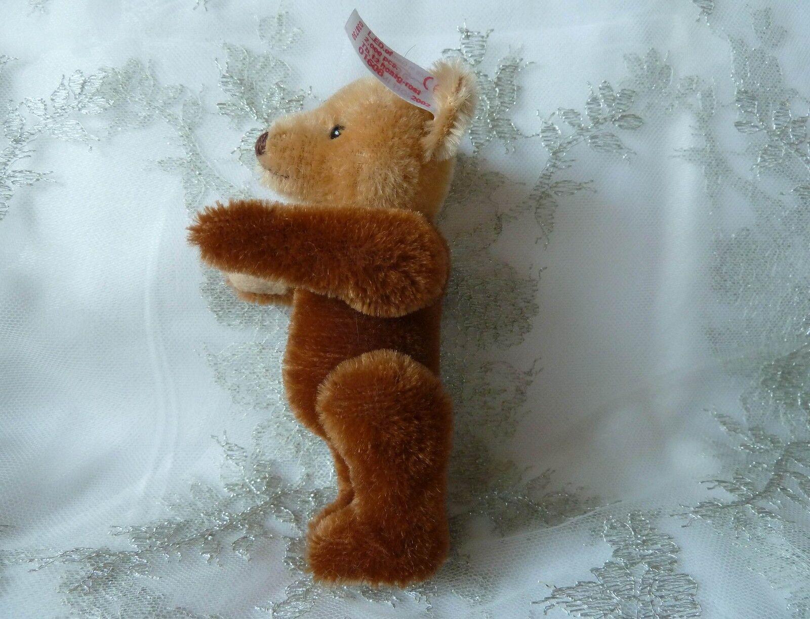 Steiff Teddybär 038730 12 12 12 cm Nr 01608Teddy Bär honig rost Millenium Karussell 1f0a24
