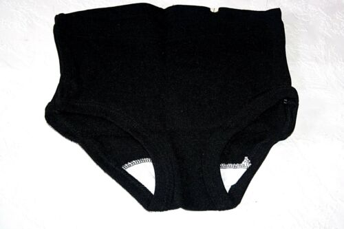 50er años rocker Billy niños pantalones de deporte turnhose talla 140 negro nylon Helanca