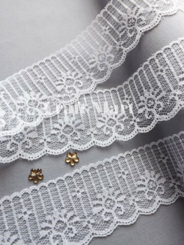 VINTAGE antique style White LACE RIBBON WEDDING TRIM Bridal Shabby rustic