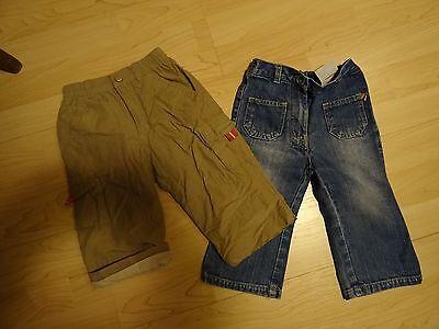 1 Jeans Und 1 Grüne Hose Gr. 80