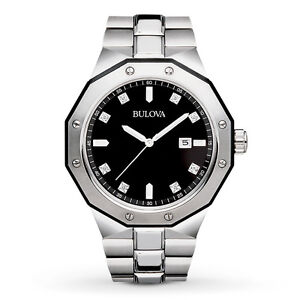7af9c6d2f6c La foto se está cargando Reloj-Pulsera-Bulova-Para-Hombre-Marine-Star -Acentos-