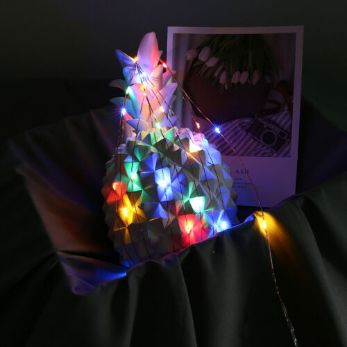 50//100LED Copper Wire Fairy String Lights USB Christmas Xmas Party Decor Timer F