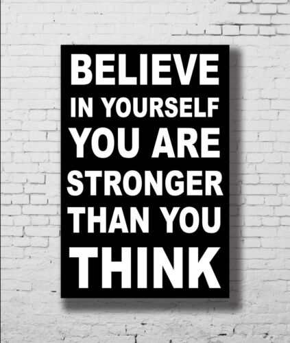 P-681 Art Motivational Inspirational Success GYM Quotes LW-Canvas Poster 24x36in