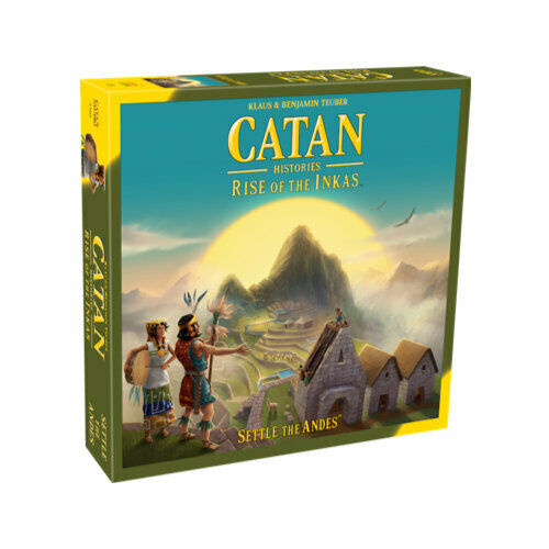 Catan  The Rise of the Inkas - Board Game - NEW - OVP - Factory Sealed