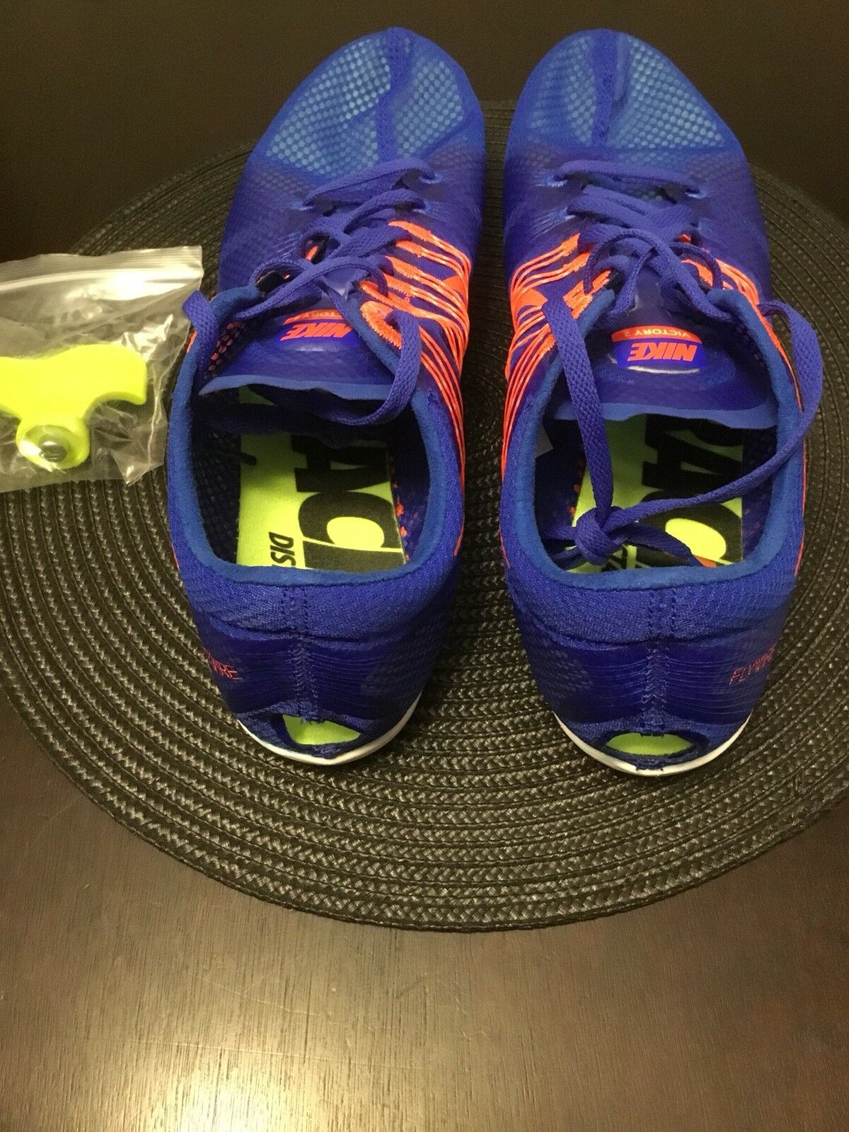 0c2a0b21946ac ... Nike Mens Mens Mens Zoom Victory 2 Flywire Spikes Track Shoes 555365  487 US 13 New