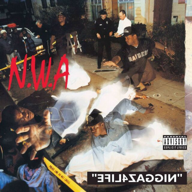 N.W.A. - EFIL4ZAGGIN (BACK TO BLACK)(180G/DC)
