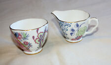 Wedgwood Butterfly Bloom Bone China 125g Sugar & 125ml Creamer Set