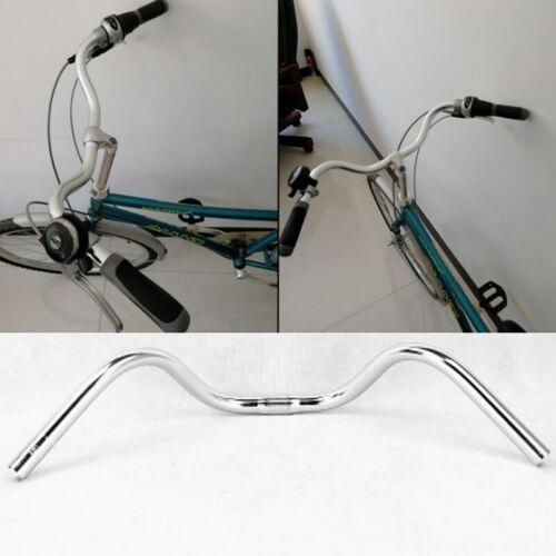 Aluminium 25.4*610mm Bicycle Handlebar M Type City Road Cycling Bike Bar New