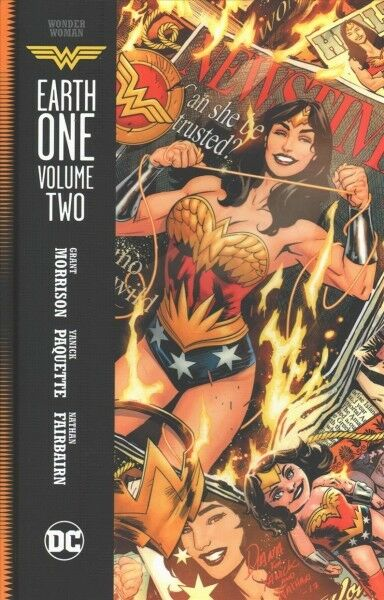 Wonder Woman Earth One 2, Hardcover by Morrison, Grant; Paquette, Yanick (ILT...