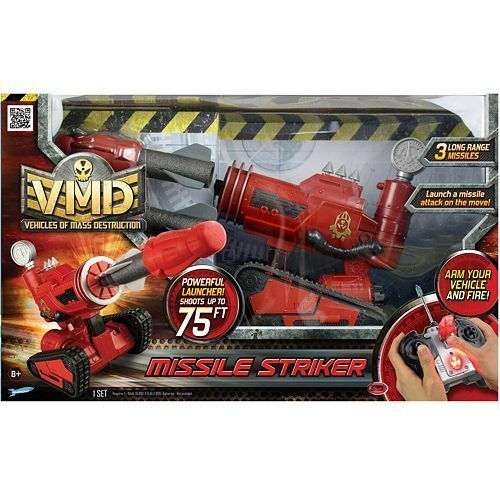 Vehicles of Mass Destruction RC Missile Striker Gift Set by by by Striker  Brand New  c33d60