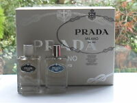 Prada Milano Infusion D'homme Gift Set 2 X 100ml Products ( Very Rare )