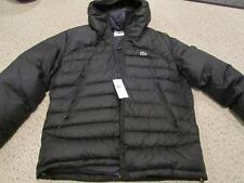 Lacoste Water Repellant Down Black Jacket Coat w/ hood NWT 56 XXL $295 ( XL)