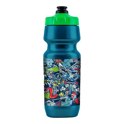 Troy Lee Designs 24oz Big Mouth WATER BOTTLE; LOGO SILVER
