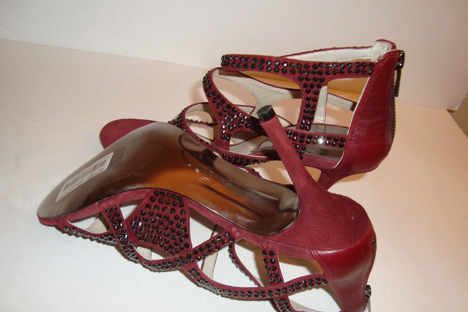 Michael Kors Damenschuhe Damenschuhe Damenschuhe NWOB AA13F Maddie Jeweled T Strap Sandales Schuhes 9 MED NEW eddb71