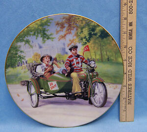 Image is loading Harley-Davidson-Motorcycle-Collectors-Plate-Road-Trip-1995- & Harley Davidson Motorcycle Collectors Plate Road Trip 1995 Great ...