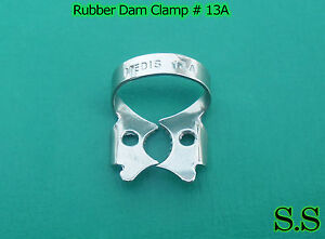 12 Pc Endodontic Rubber Dam Clamp #13A