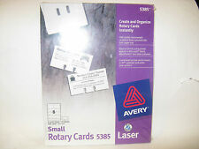 Avery Small Rotary Cards Item 5385