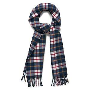 0c6dd7e41ee5b Gant Scarf - Gant Men's Checked Lambswool Scarf Cream 7325702473147 ...