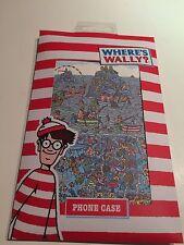 BNWT Nuevo Donde Está Wally Teléfono Funda Acolchada limpie