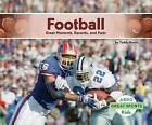Football:: Great Moments, Records, and Facts by Teddy Borth (Hardback, 2015)