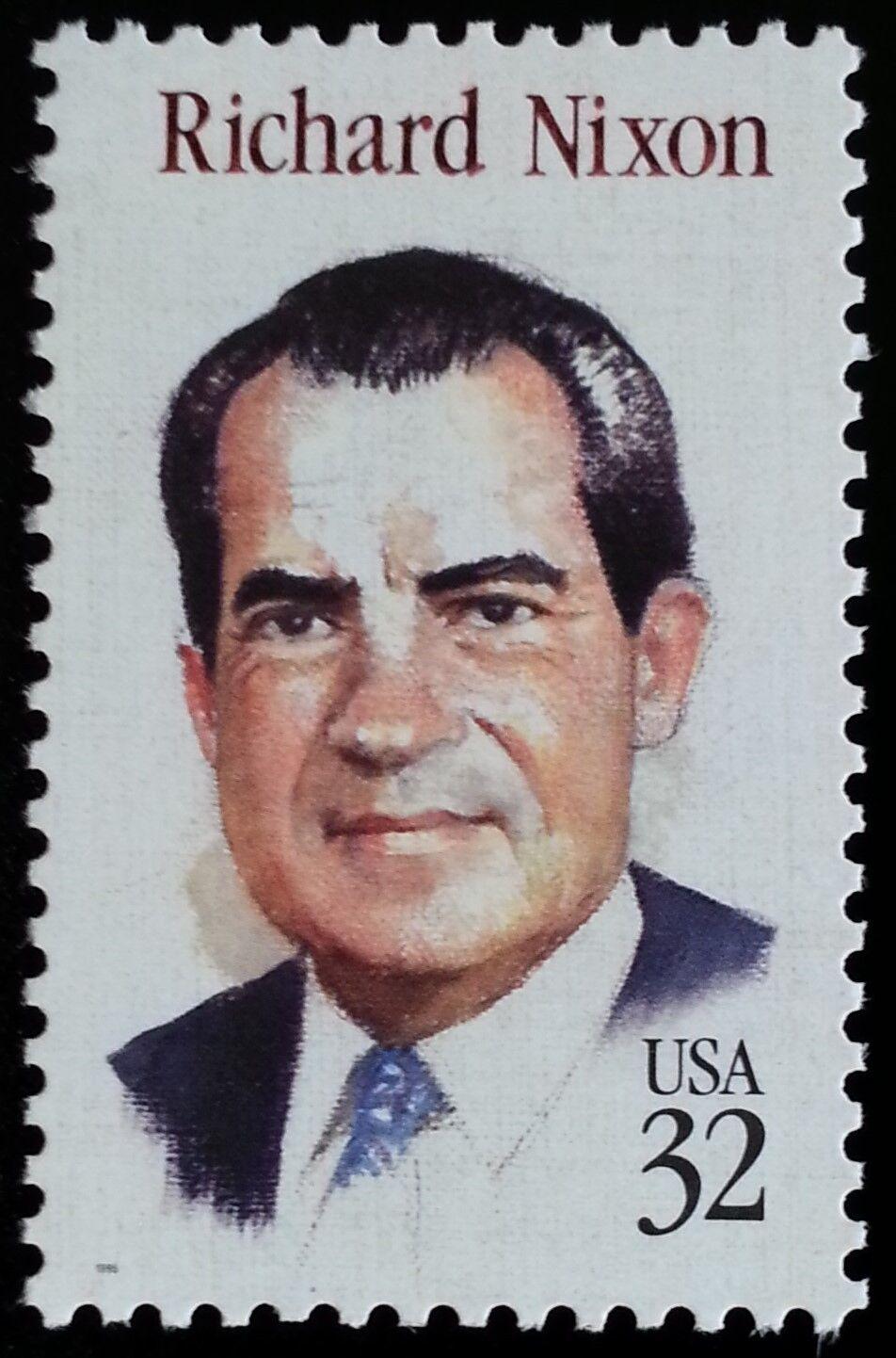 1995 32c Richard Milhous Nixon, 37th President Scott 29