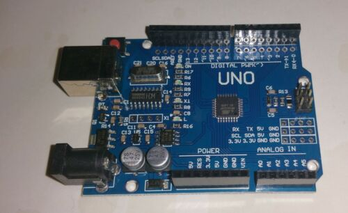 UK stock Arduino Uno R3 Compatible   ATmega328P with CH340 chip