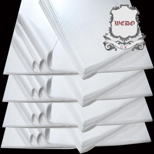 """15 /""""X10/"""" Bianco Carta Velina acido libero per gli imballaggi imballaggio un artigianato"""