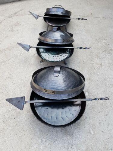 Sac Satsch Peka Ispod Peke Dutch Oven Lammgrill Tajine Spanferkelgrill Grill BBQ