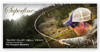 Orvis Superfine Glass 4wt 7'6 Fly Rod With Free $80 Fly Line And Free Shipping