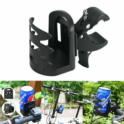 Black Universal Beverage Cup Holder For Wheelchair Walker Rollator Bike Stroller