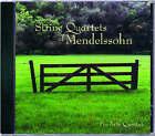 String Quartets of Mendelssohn: Pro Arte Quartet by University of Wisconsin Press (CD-Audio, 2005)