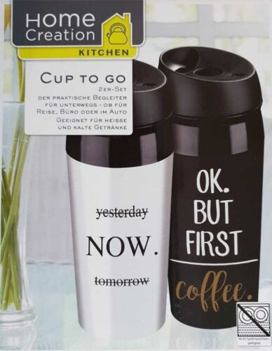 CUP TO GO Thermobecher  2er Set ***NEU/&OVP***