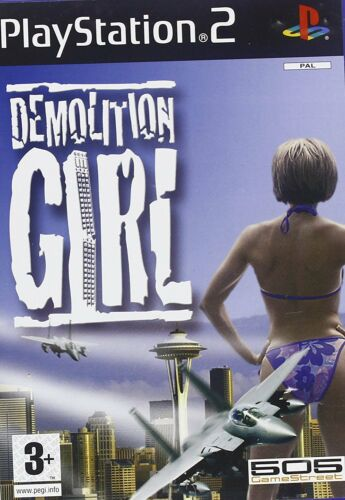 1 of 1 - Demolition Girl PS2