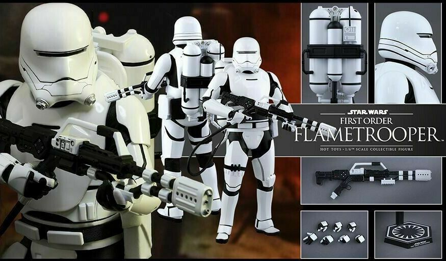 Hot Toys HT902575 1 6 Scale First Order Flame Trooper Figure by Hot Toys