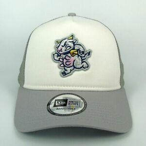 New Era Cap para hombre MILB Wisconsin Timber Rattlers equipo insignia Trucker Snapback Sombrero