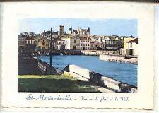 CP 17 Charente-Maritime - Ile de Ré - Saint-Martin-de-Ré - Vue sur le Port