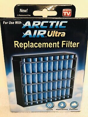 Ontel Arctic Air Ultra Replacement Filter New As Seen On Tv Washable Reusable Ebay