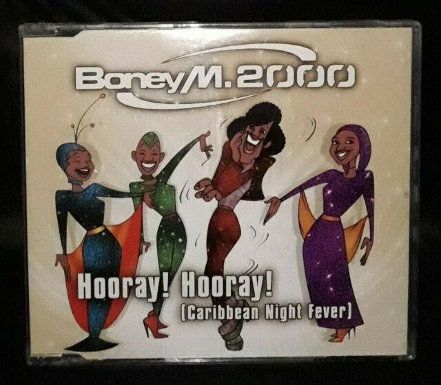 Boney M 2000 – Hooray! Hooray! (Caribbean Night Fever) (CD) Europe