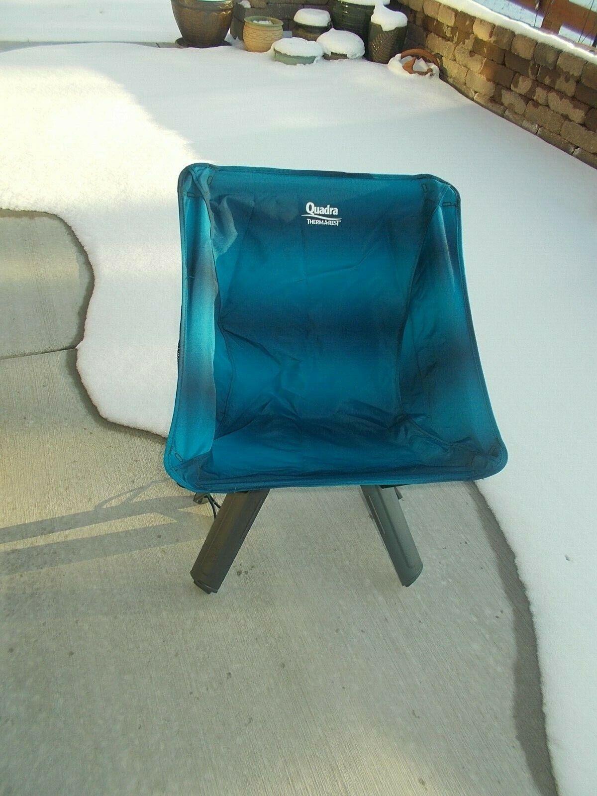 Therm-a-Rest Quadra Chair in Blau Ocean