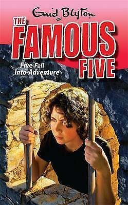 1 of 1 - Blyton, Enid, Five Fall Into Adventure: Book 9 (Famous Five), Very Good Book