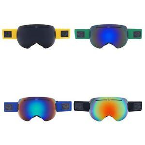 031f5f4a7f8 Image is loading Bearz-Yeti-Magnetic-Frameless-Snow-Snowboard-Ski-Goggles-