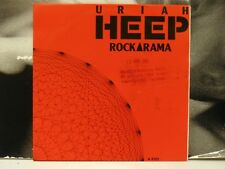 "URIAH HEEP - ROCKARAMA / BACKSTAGE GIRL 45 GIRI 7"" HOLLAND 1985 CBS PRTA 6103"
