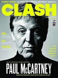 Details about CLASH Magazine Paul McCartney The Beatles NEW