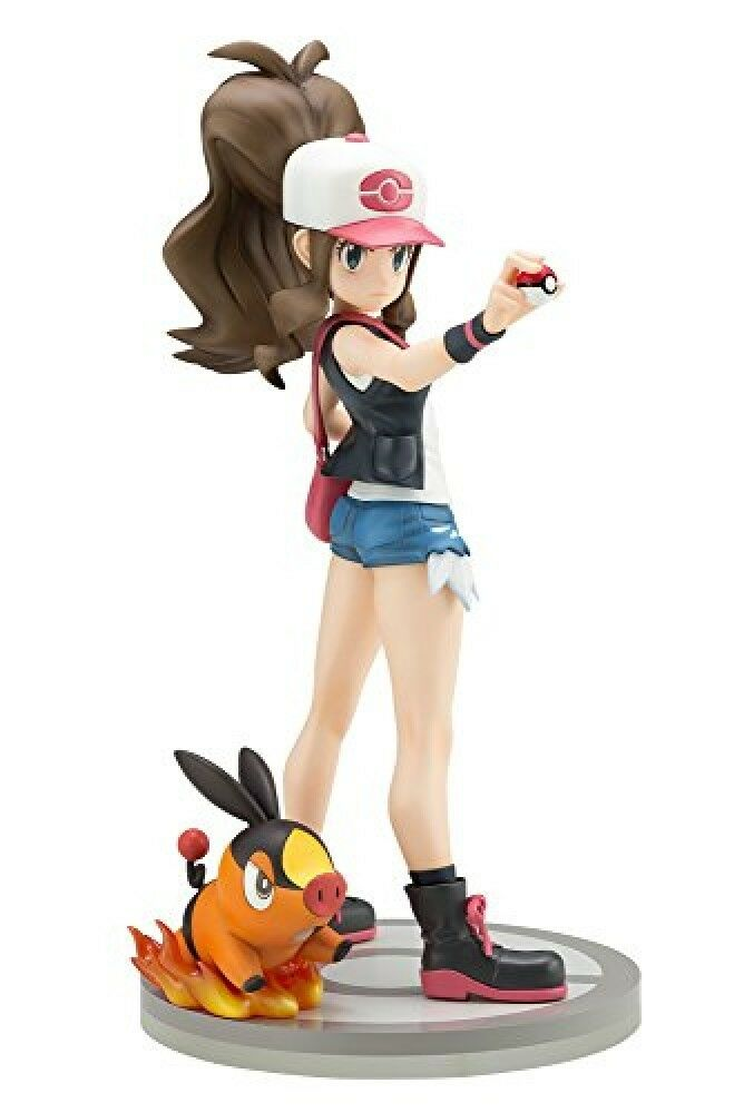 ARTFX J Hilda Touko with Tepig 1 8 Figure Pokemon KOTOBUKIYA
