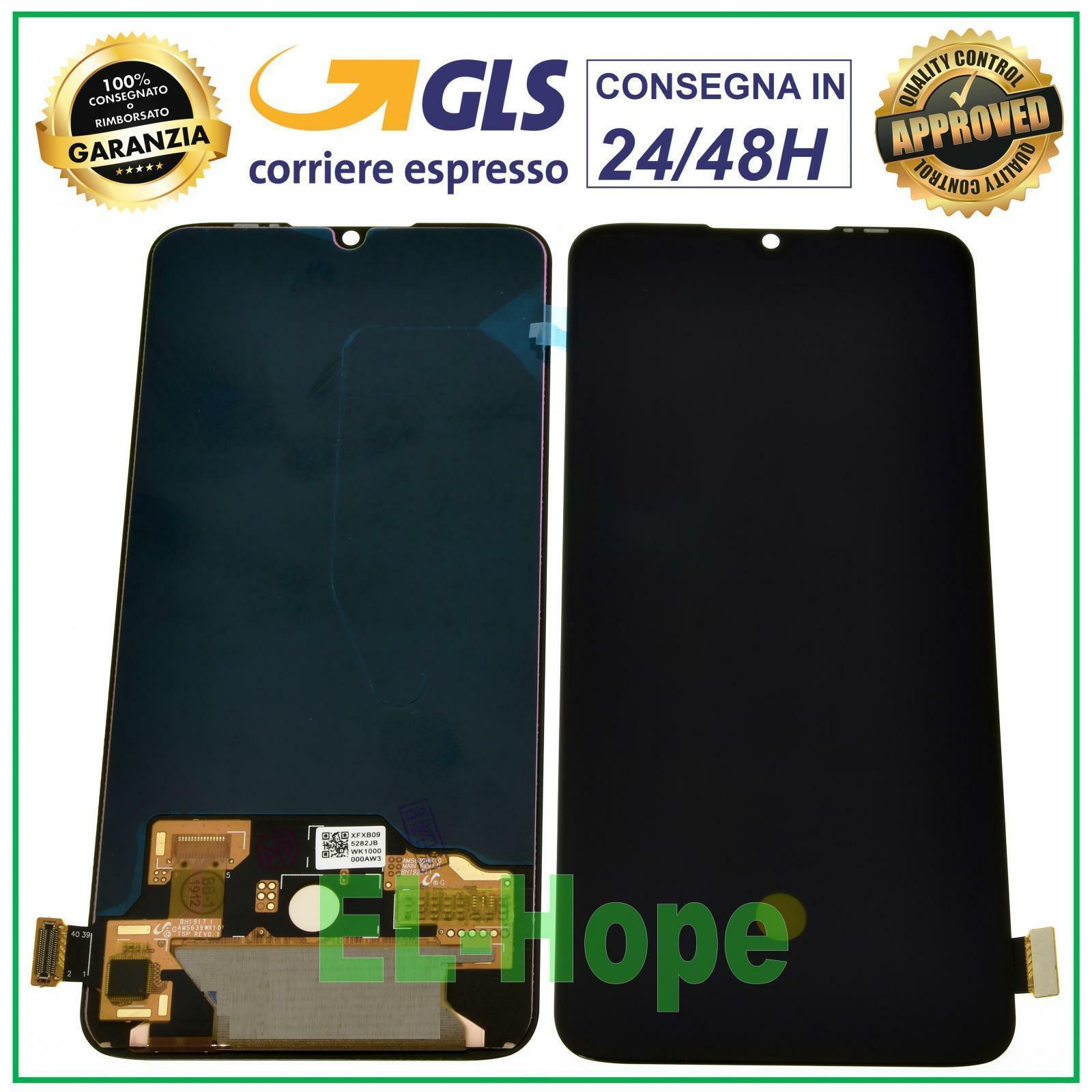 xiaomi: DISPLAY LCD OLED PER XIAOMI MI 9 LITE M1904F3BG TOUCH SCREEN SCHERMO VETRO NERO